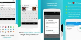 Slash Keyboard APK