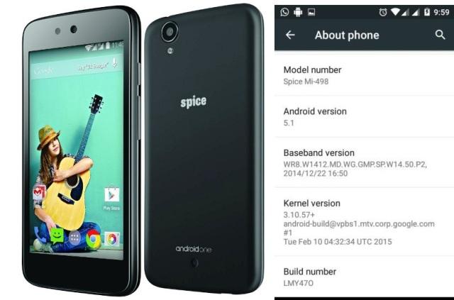 Spice Dream UNO Android 5.1