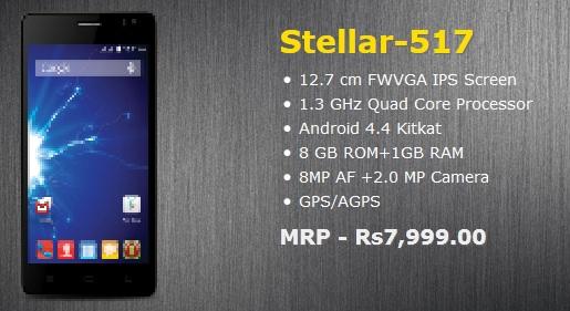 Spice Stellar 517