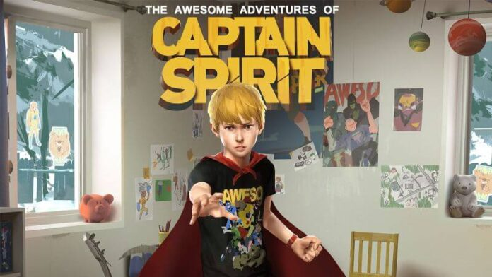 The Awesome Adventures of Captain Spirit Save file