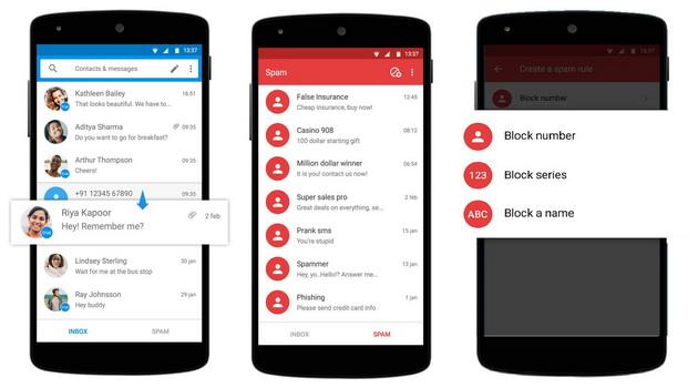 Truemessenger SMS App