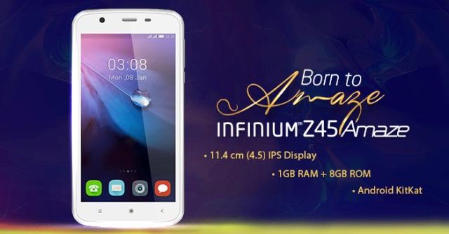 Videocon Infinium Z45 Amaze