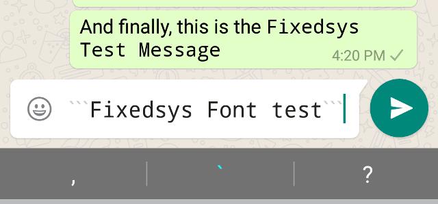 WhatsApp-Fonts