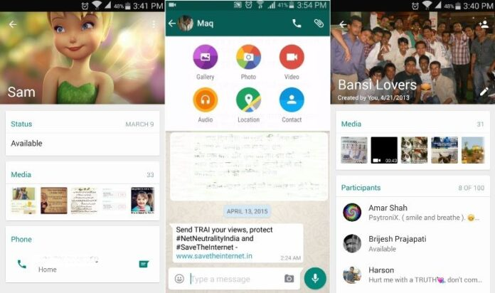 WhatsApp Material Design apk
