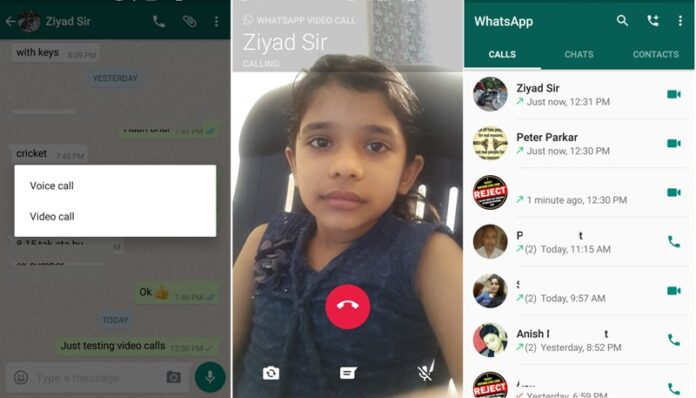 WhatsApp Video Calling 1
