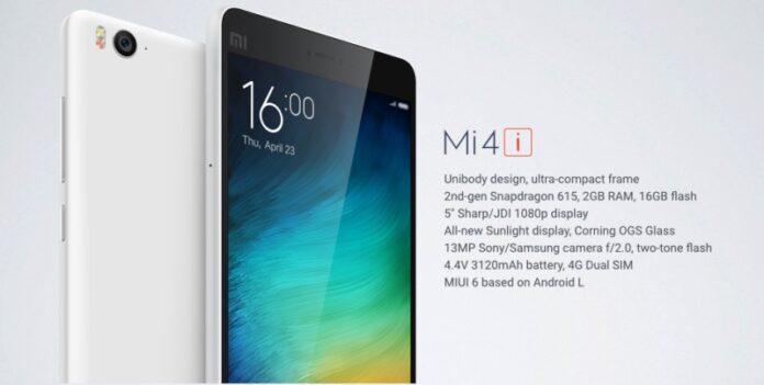 Xiaomi Mi 4i Photo