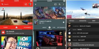 YouTube Gaming App