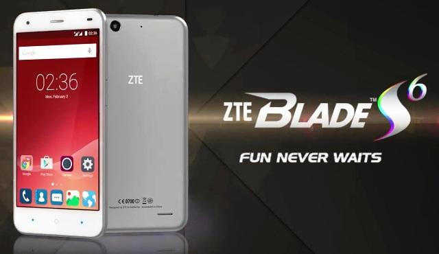 ZTE Blade S6 Photo