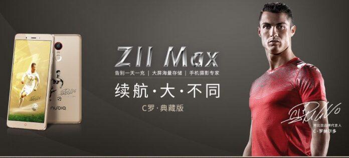 ZTE nubia Z11 Max Ronaldo Edition