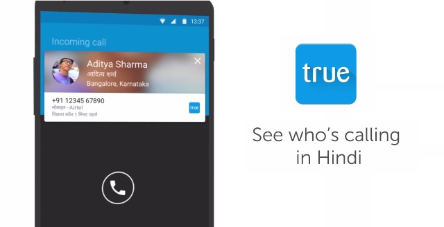 truecaller hindi caller id